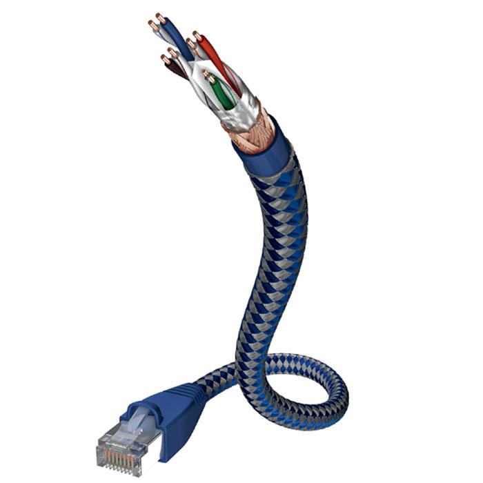 Inakustik Premium CAT6 Patch Cable сетевой кабель 6 категории, 1 м (00480301)4001985507733Сетевой кабель 6 категории Inakustik Premium CAT6 Patch Cable имеет 4 витых пары защищенных двойным внешним экраном, сделанным из медной оплётки и фольги. Диаметр жил: 0.5 мм (AWG 24) 4 витых пары Пропускная способность: до 1000 Мбит/с Поддержка Ethernet 10baseT / 100baseT / 1000baseT Подключение ISDN / DSL / телефон (аналоговый) Разделительный корд между витыми парами