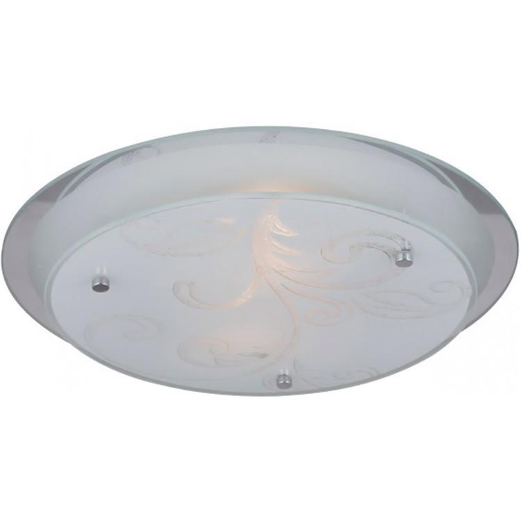 48065 Потолочный светильник BERRY48065Светильник Globo 48065 из серии BERRY – стильный круглый потолочный светильник в стиле модерн на металлической матовой основе со стеклянным узорчатым плафоном Материал: Арматура: Металл/Плафон: Стекло Цвет: Арматура: Серебристый/Плафон: Белый Размер: 33,5х33,5х8,5