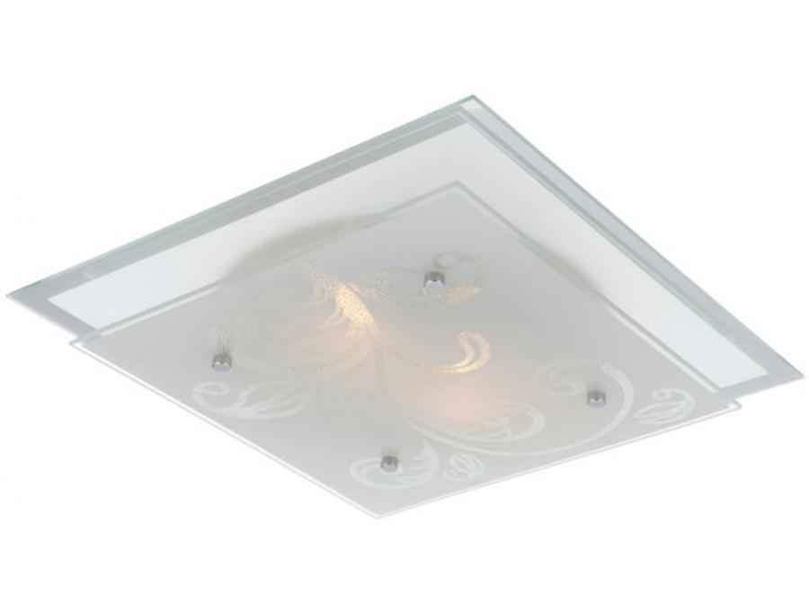 48066 Потолочный светильник BERRY48066Светильник Globo 48066 из серии BERRY – стильный квадратный потолочный светильник в стиле модерн на металлической матовой основе со стеклянным узорчатым плафоном