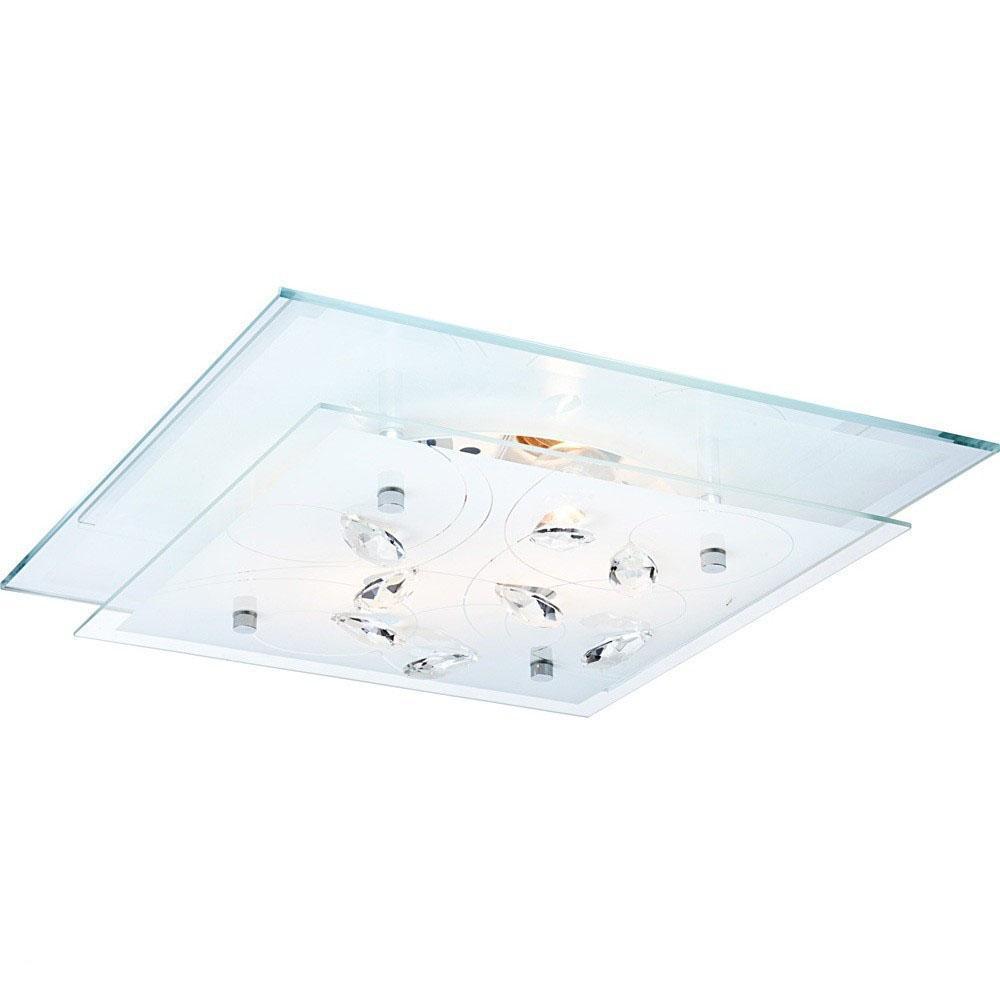 40408-2 Потолочный светильник JASMINA40408-2Globo Настенный светильник 40408-2. Настенный светильник с плафоном из матового стекла, декорированного хрустальными стразами, привлекает внимание оригинальным дизайном, лаконичностью форм и изысканностью стиля. Эта модель, без сомнения, гармонично дополнит интерьер вашего дома. Электроприбор можно разместить в зоне отдыха, и его мягкий свет поможет вам расслабиться, отдохнуть после напряженного дня за чтением книги или газеты. Высокое качество используемых в производстве световой техники материалов австрийской компании Globo является гарантией долгой службы прибора. Материал: Арматура: Металл/Плафон: Стекло Цвет: Арматура: Серебристый/Плафон: Белый Размер: 33,5х33,5х8,5