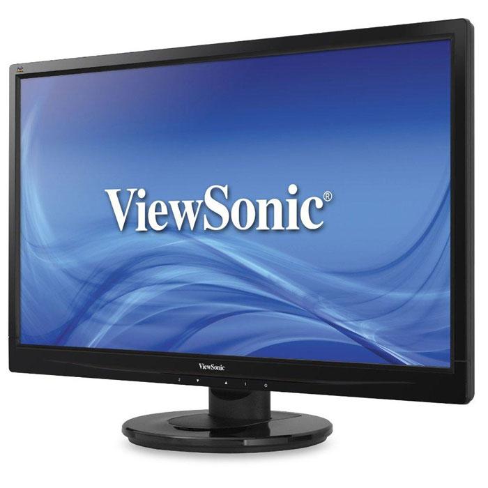 ViewSonic VA2445-LED, Glossy Black мониторVS15453Монитор ViewSonic VA2445-LED с диагональю экрана 24 и разрешением 1920x1080. Разрешение Full HD обеспечивает оптимальное отображение пикселей: Насладитесь исключительной четкостью и детализацией изображений высокой четкости на этом мониторе ViewSonic VA2445-LED в приложениях для офиса, графического дизайна, видеомонтажа, мультимедиа и, конечно же, в играх. Разрешение Full HD 1920x1080p обеспечивает исключительное попиксельное отображение любых изображений, а сверхвысокий коэффициент динамической контрастности 10 000 000:1 гарантирует точное воспроизведение изображения с богатыми, живыми визуальными эффектами. Сверхвысокий коэффициент динамической контрастности обеспечивает четкие, резкие изображения: Исключительно высокий коэффициент динамической контрастности 10 000 000:1 лучше подчеркивает отношение между самыми темными и самыми яркими цветами, что обеспечивает богатство цветов и высокую детализацию изображения. Сочетание с исключительно быстрым...