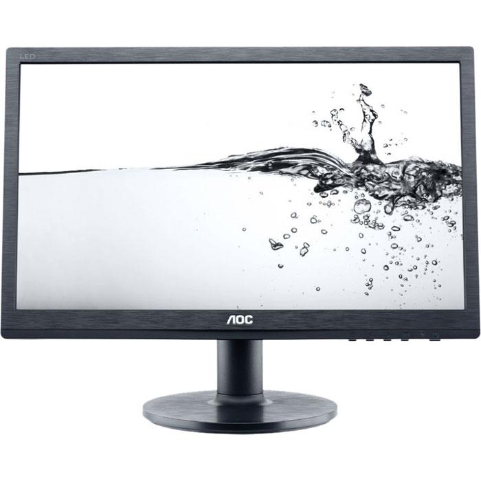 AOC E2260SWDA, Black монитор ( E2260SWDA )