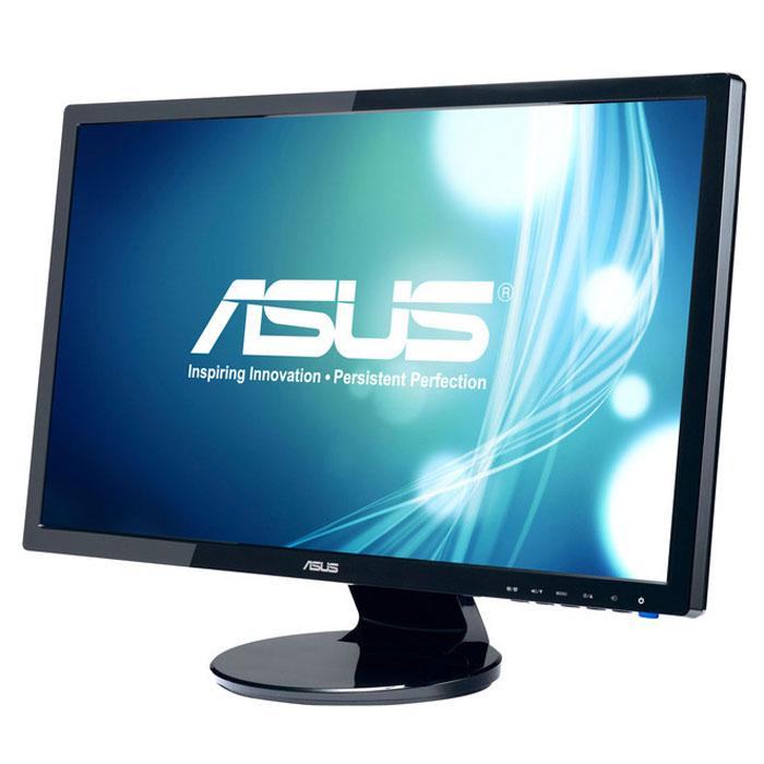 Asus VE247T, Black монитор90LMC2101Q01021C-Мультимедийный монитор Asus VE247T обладает разрешением 1920x1080 пикселей и, таким образом, поддерживает формат видео Full-HD 1080p. Технология Asus Smart Contrast Ratio: Благодаря технологии ASCR, которая динамически изменяет яркость подсветки в зависимости от текущего изображения, контрастность данного монитора достигает фантастического уровня – 10 000 000:1. Время отклика 2 миллисекунды: Быстрое среднее время отклика – всего 2 мс (при переключении между полутонами) – обеспечивает отсутствие темных «шлейфов» позади движущихся объектов и плавное воспроизведение видео. Функция контроля соотношения сторон: Функция контроля соотношения сторон позволяет пользователям указать предпочтительный способ отображения видеоматериала при масштабировании: растягивать картинку на весь экран или сохранять соотношение сторон 4:3. Технология Splendid Video Intelligence: Эксклюзивная технология Splendid Video Intelligence...