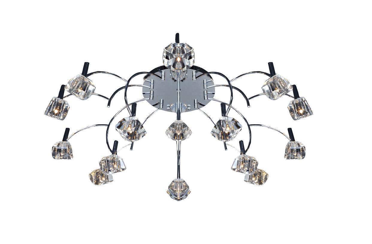 Потолочный светильник ST Luce SL211 102 16SL211.102.16Жизнь современного человека не представляется возможной без света, а роскошную, элегантную комнату обязательно должны украшать модные и стильные светильники. При помощи различных источников света можно выразительно и ярко подчеркнуть выигрышные элементы дизайнерского оформления комнаты или же, наоборот, затемнить и скрыть какие-либо детали. Кроме того, точечные светильники создадут особую атмосферу и настроение в интерьере.