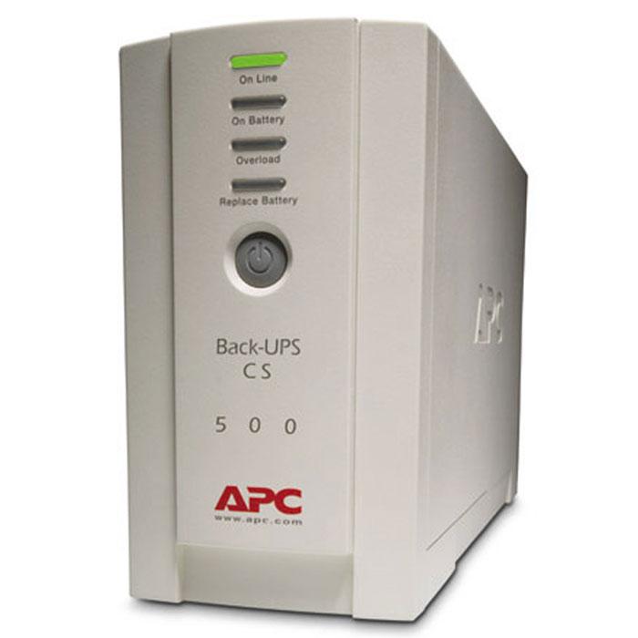 APC BK500EI Back-UPS 500 ИБПBK500EIИсточник бесперебойного питания начального уровня APC BK500EI Back-UPS 500 оснащается четырьмя евророзетками и многоразовым предохранителем. Имея базовый набор функций, Back-UPS BK прост в использовании и будет востребованы потребителями, которые нацелены на покупку надежного ИБП начального уровня. Поддержите и защитите свое оборудование и данные во время отключений электричества, всплесков и импульсов напряжения. Устройство обеспечивает защиту вспомогательной электронной техники от всплесков и перепадов напряжения без потребления энергии от аккумулятора, необходимой для работы более важного оборудования при отключении сетевого питания. Регулярная самодиагностика батарей позволяет своевременно обнаружить батарею, подлежащую замене. Максимальное повышение эффективности батареи, увеличение срока ее службы и надежности достигается за счет точной интеллектуальной зарядки. Многоразовый автоматический предохранитель гарантирует простую процедуру...