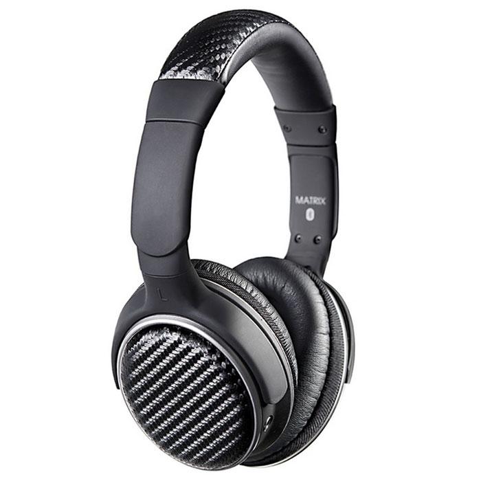 MEElectronics Air-Fi Matrix2 AF62, Black Bluetooth-наушники с микрофономAF62-CFБеспроводные Bluetooth наушники MEElectronics Air-Fi Matrix2 AF62 с функцией гарнитуры. Благодаря использованию 40 мм динамиков и технологии aptX для наилучшей передачи потокового аудио, эти наушники обеспечивают богатый частотный диапазон воспроизведения, который по достоинству оценят самые разборчивые слушатели. Модель MEElectronics Air-Fi Matrix2 AF62 может также похвастаться наличием Bluetooth 4.0 с возможностью установления связи по NFC, голосовыми подсказками и опциональным проводным подключением. Встроенный микрофон и функции управления воспроизведением медиафайлов дают вам возможность использовать телефон, планшет или плеер на все сто процентов. Поворотные ушные чашки с обновленными амбушюрами ComfortTouch и регулируемое оголовье гарантируют удобство при ношении в течение всего дня.