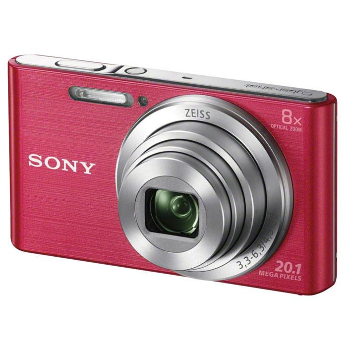 Sony Cyber-shot DSC-W830, Pink цифровая фотокамераDSC-W830/PКомпактная камера Sony Cyber-shot DSC-W830 с 8-кратным оптическим зумом. Делать детализированные фотоснимки и видеоролики в HD качестве теперь стало проще как никогда. Компактная камера W830 оснащена матрицей 20,1 Мпикс, объективом ZEISS c 8-кратным оптическим зумом, быстрым автофокусом и оптическим стабилизатором Optical SteadyShot и при этом она легко помещается в карман. С камерой W830 Cyber-shot вы с легкостью можете запечатлеть красоту каждого мгновения. Матрица 20,1 Мпикс с высоким разрешением и встроенный автофокус обеспечивают четкие, детализированные кадры даже при быстром движении. Мощный 8-кратный оптический зум поможет приблизить, а объектив ZEISS позволит запечатлеть увиденное с кристальной четкостью. Кнопка Movie позволяет снимать видео в формате 720p HD и мгновенно воспроизводить его, давая возможность заново пережить эти моменты с друзьями. Интеллектуальный автоматический режим Intelligent Auto автоматически настраивает параметры...
