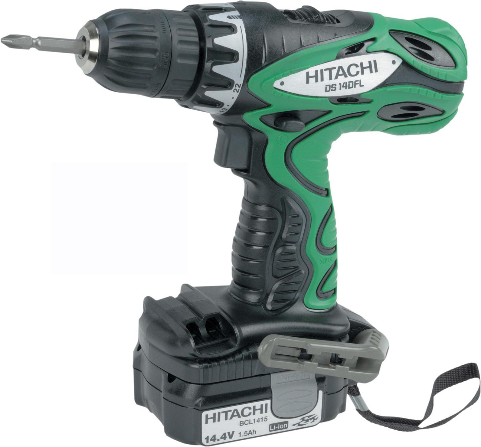 Hitachi DS14DFL аккумуляторный шуруповертDS14DFL