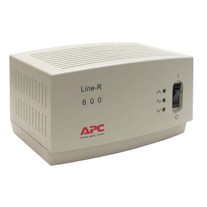 APC LE600I Line-R 600VA стабилизатор напряженияLE600IСтабилизатор напряжения APC LE600I Line-R 600VA с выходной мощностью 600 ВA содержит выходные соединения 3 x CEE 7 Schuko, оснащён двухметровым силовым кабелем.