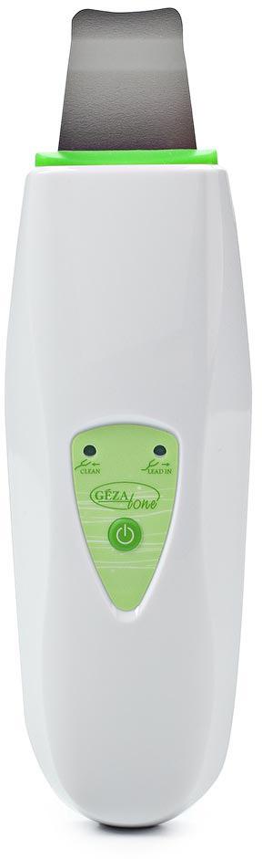 Gezatone Ультразвуковой прибор для ухода за кожей лица HS2307i1302056Более 15 лет салоны красоты и косметические клиники предлагают процедуры с использованием ультразвуковых методик. Gezatone- инновационная модель для УЗ-пилинга, которая поможет вам делать дома процедуры, ничем не отличающиеся от салонных. Работа аппарата основана на принципе деликатного ультразвукового воздействия с частотой 25КГц, не травмирующего, не растягивающего кожу лица, помогающего восстановлению регенеративных свойств кожи и ее омоложению. Что может прибор для ультразвукового пилинга Gezatone HS2307I: Ультразвуковой пилинг лица - очищение и отшелушивание кожи. Ультразвуковые колебания на высокой частоте способствуют образованию на коже микроструй из очищающего косметического средства, с помощью которых из пор удаляются загрязнения и сальные отложения, а также ороговевшие клетки эпидермиса. Результатом ультразвукового пилинга становится выравнивание цвета лица, отбеливание кожи, глубокое очищение кожи лица, шеи и декольте, насыщение ее...