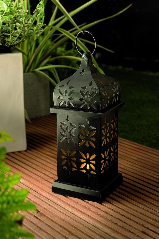 Уличный светильник Gardman Арабский фонарь18535Светильник на солн батарее Арабский фонарь 37 * 14 * 14см