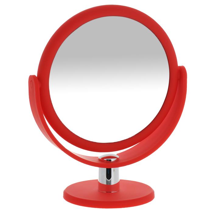 Зеркало косметическое Gezatone LM494, двустороннее1301207Работа над собой, проведение косметических процедур, нанесение макияжа требует наличия зеркала. И оно должно удовлетворять самым взыскательным потребностям. Зеркало LM494 Gezatone является образцом высокого стиля, отличного качества и максимальной функциональности. Двухстороннее зеркало с регулируемым углом наклона позволит вам установить его так, как это удобно вам, а десятикратное увеличение одной из зеркальных линз поможет разглядеть даже малейшие нюансы и устранить все недостатки кожи. Яркий и стильный дизайн делает зеркало отличным подарком родным и близким, оно будет прекрасно смотреть я в любом интерьере, делаю процедуры ухода за собой максимально комфортными. Увеличение: 10x. Диаметр (без учета рамки): 14,5 см.