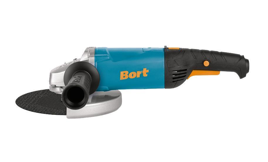 Шлифмашина угловая Bort BWS-2000U-S BWS-2000U-S Blue