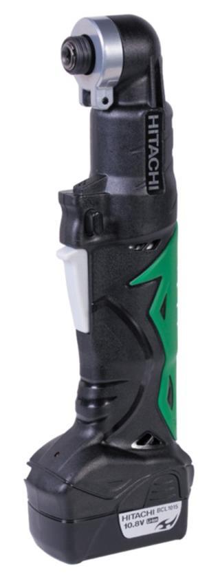 Hitachi WH10DCL аккумуляторный шуруповертWH10DCL Green BlackВысота головки 53 мм Компактный, легкий, с удобным захватом Индикатор заряда аккумулятора Светодиодная подсветка на корпусе Макс. крутящий момент 30 Нм