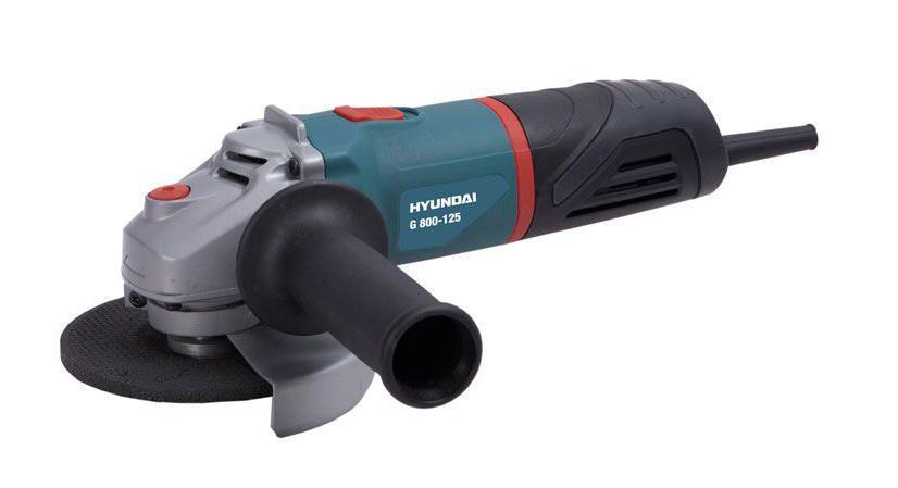 Шлифмашина угловая Hyundai Corporation G 800-125 EXPERT