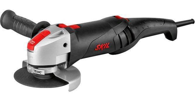 Skil 9345LG угловая шлифовальная машина (F0159345LG)9345LGБолгарка Skil 9345 LG F0159345LG имеет высокую скорость вращения - 11500 об/мин. Боковая рукоятка снижает вибрацию на 40% Идеально сбалансированным инструментом можно работать долго и без усталости. Защитный кожух обеспечивает безопасность оператора во время работы с болгаркой.