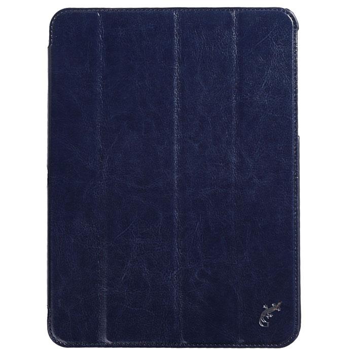 G-case Slim Premium чехол для Samsung Galaxy Tab 4 10.1, Dark BlueGG-378Стильный чехол-книжка G-case Slim Premium для Samsung Galaxy Tab 4 10.1 представляет собой очень полезный аксессуар,основная функция которого защищать планшет от неблагоприятных внешних воздействий. Он выполнен в очень элегантном стиле из высококачественной кожи. Чехол поможет при ударах и падениях, смягчая удары, не позволяя образовываться на корпусе царапинам и потертостям. Он идеально повторяет формы планшета и при этом надежно защищает каждую грань устройства. Все разъемы остаются свободны, а доступ к экрану осуществляется легким движением руки. Кроме того чехол G-Case Slim Premium можно использовать в качестве двухпозиционной подставки.