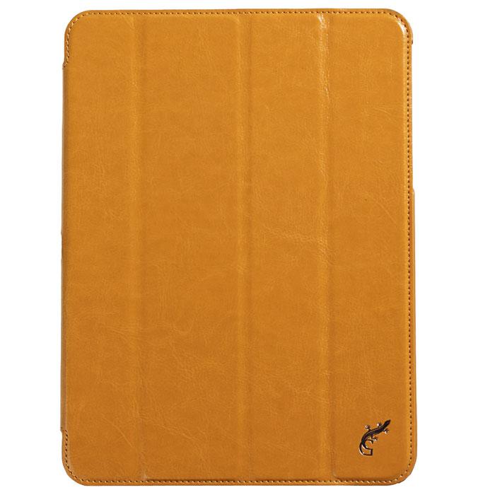 G-case Slim Premium чехол для Samsung Galaxy Tab 4 10.1, OrangeGG-377Стильный чехол-книжка G-case Slim Premium для Samsung Galaxy Tab 4 10.1 представляет собой очень полезный аксессуар,основная функция которого защищать планшет от неблагоприятных внешних воздействий. Он выполнен в очень элегантном стиле из высококачественной кожи. Чехол поможет при ударах и падениях, смягчая удары, не позволяя образовываться на корпусе царапинам и потертостям. Он идеально повторяет формы планшета и при этом надежно защищает каждую грань устройства. Все разъемы остаются свободны, а доступ к экрану осуществляется легким движением руки. Кроме того чехол G-Case Slim Premium можно использовать в качестве двухпозиционной подставки.