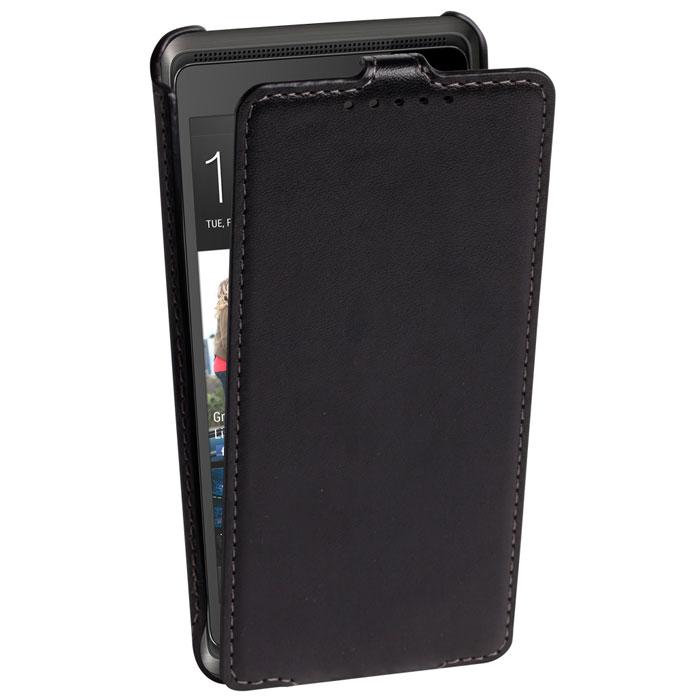 Untamo Accentika Flip Case чехол для HTC Desire 600 Dual, BlackUACKFHTC6002BLСверхтонкий чехол из эко кожи и контрастной строчкой по краю Untamo Accentika Flip Case для HTC Desire 600 Dual. Чехол плотно прилегает к смартфону, формируя жесткий каркас с поверхностью матовой эко-кожи. Подкладка из микрофибры обеспечивает дополнительную защиту устройства от механических повреждений.