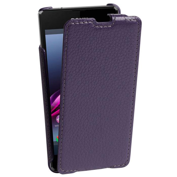Untamo Alto Flip Case чехол для Sony Xperia Z1 Compact, Violet