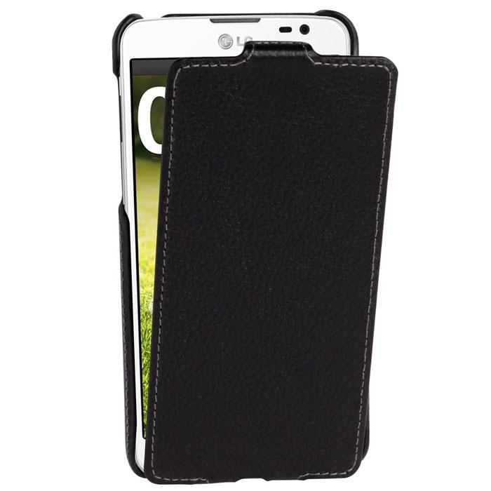 Untamo Alto Flip Case чехол для LG G Pro Lite, BlackUALFLGGPROLBLСверхтонкий чехол из натуральной кожи с четким рисунком и контрастной строчкой по краю Untamo Alto Flip Case для LG G Pro Lite. Чехол плотно прилегает к смартфону, формируя жесткий каркас с поверхностью из мягкой кожи высочайшего качества. Подкладка из микрофибры обеспечивает дополнительную защиту устройства.