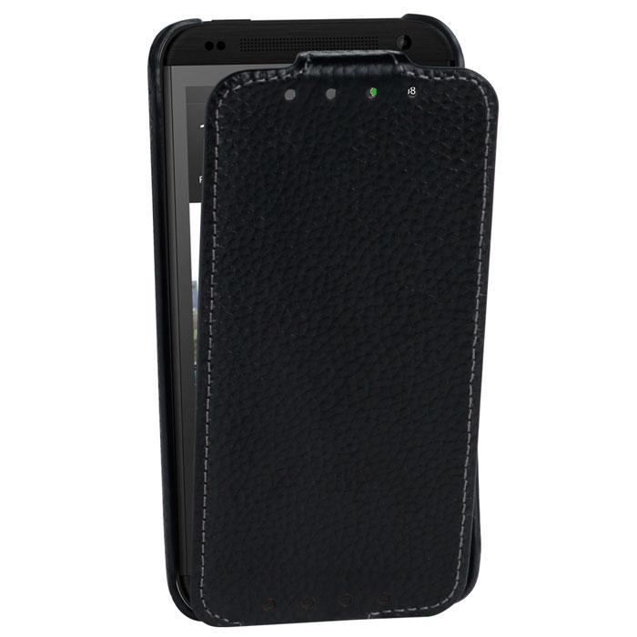Untamo Alto Flip Case чехол для HTC Desire 601, BlackUALFHTC601BLСверхтонкий чехол из натуральной кожи с четким рисунком и контрастной строчкой по краю Untamo Alto Flip Case для HTC Desire 601. Чехол плотно прилегает к смартфону, формируя жесткий каркас с поверхностью из мягкой кожи высочайшего качества. Подкладка из микрофибры обеспечивает дополнительную защиту устройства.