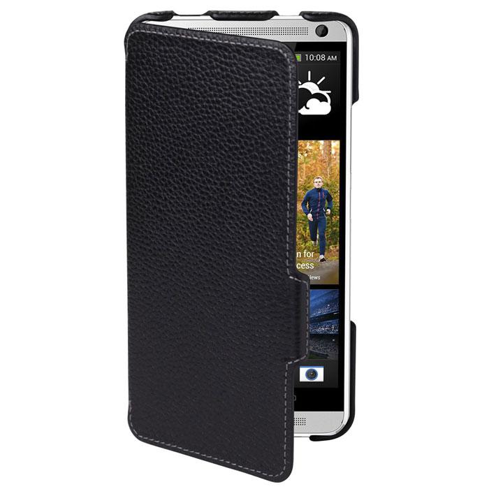Untamo Alto Book Case чехол для HTC One Max, BlackUALBHTC1MAXBLСверхтонкий чехол-книжка из натуральной кожи с четким рисунком Untamo Alto Flip Case для HTC One Max. Чехол плотно прилегает к смартфону, формируя жесткий каркас с поверхностью из мягкой кожи высочайшего качества. Подкладка из микрофибры обеспечивает дополнительную защиту устройства.