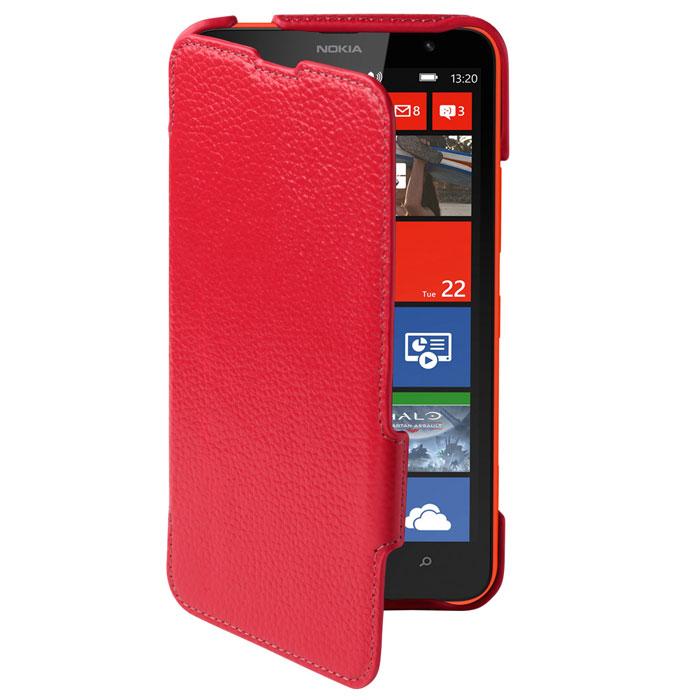 Untamo Alto Book Case чехол для Nokia Lumia 1320, RedUALBLUM1320REDСверхтонкий чехол-книжка из натуральной кожи с четким рисунком Untamo Alto Flip Case для Nokia Lumia 1320. Чехол плотно прилегает к смартфону, формируя жесткий каркас с поверхностью из мягкой кожи высочайшего качества. Подкладка из микрофибры обеспечивает дополнительную защиту устройства.