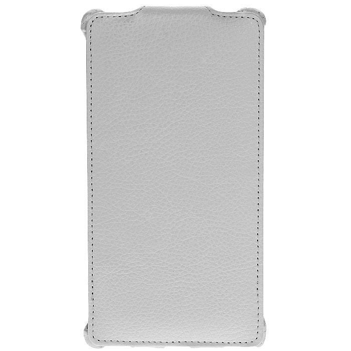 Ecostyle Shell чехол-флип для Nokia Lumia 1320, White