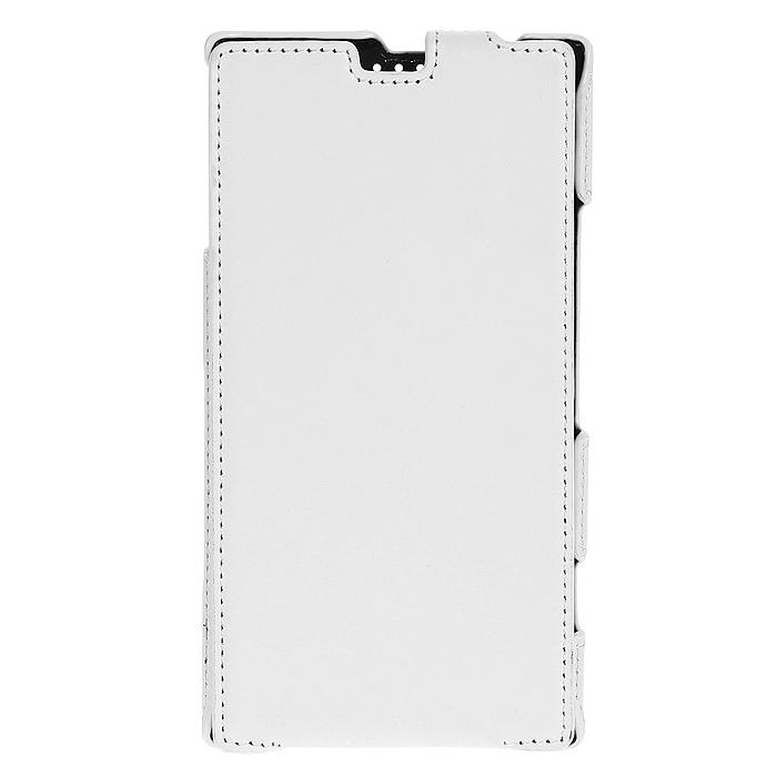 Untamo Accentika Flip Case чехол для Nokia 1520, White