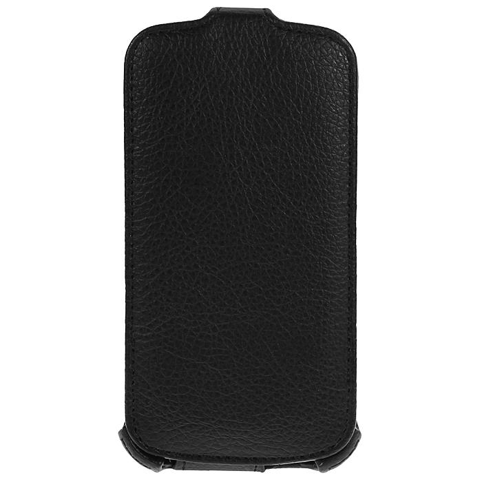 Ecostyle Shell чехол-флип для Acer Liqiud E2 V370, Black