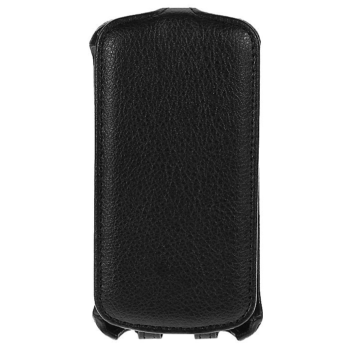 Ecostyle Shell чехол-флип для HTC Desire 500/500 Dual, Black