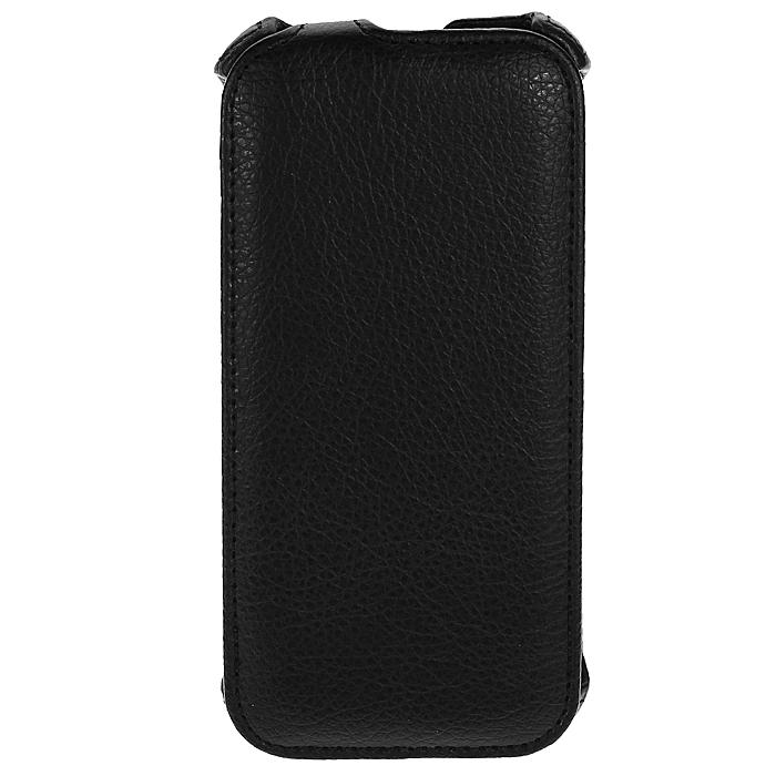 Ecostyle Shell чехол-флип для HTC One M8, Black