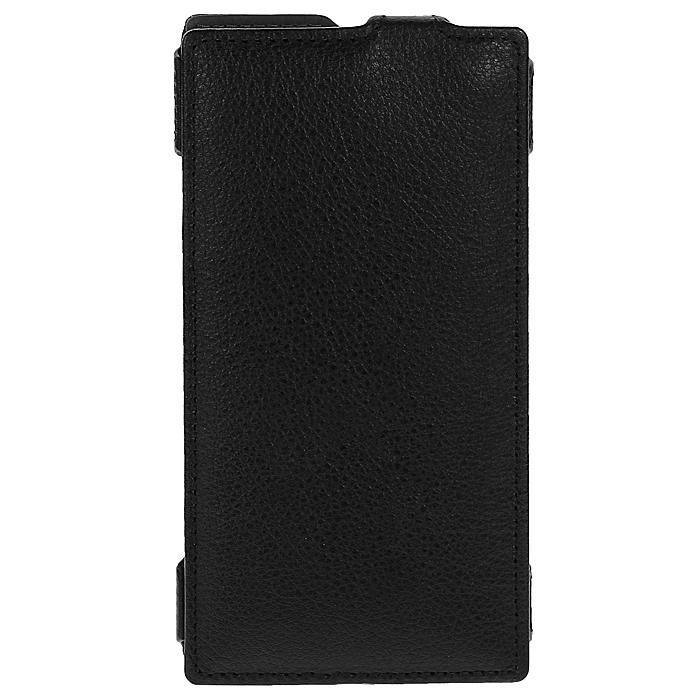 Ecostyle Shell чехол-флип для Nokia Lumia 1520, BlackESH-F-NOK1520-BLЧехол-флип Ecostyle Shell для Nokia Lumia 1520 надежно защитит ваш телефон от механических повреждений, грязи и пыли. Конструкция чехла обеспечивает свободный доступ к разъемам, камере и основным функциям смартфона. Мягкая внутренняя поверхность защищает экран устройства от царапин.