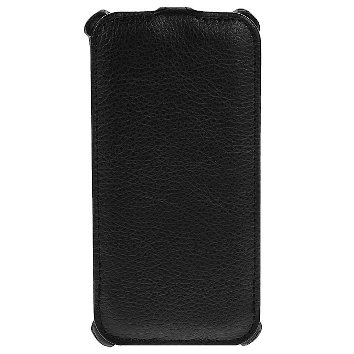 Ecostyle Shell чехол-флип для HTC Desire 700, BlackESH-F-HTC700-BLЧехол-флип Ecostyle Shell для HTC Desire 700 надежно защитит ваш телефон от механических повреждений, грязи и пыли. Конструкция чехла обеспечивает свободный доступ к разъемам, камере и основным функциям смартфона. Мягкая внутренняя поверхность защищает экран устройства от царапин.