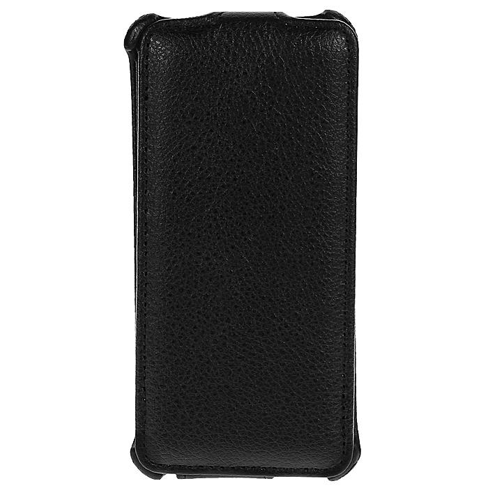 Ecostyle Shell чехол-флип для HTC One mini, Black