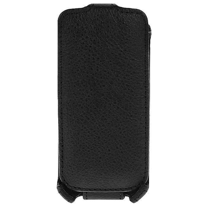 Ecostyle Shell чехол-флип для Nokia Asha 311, Black