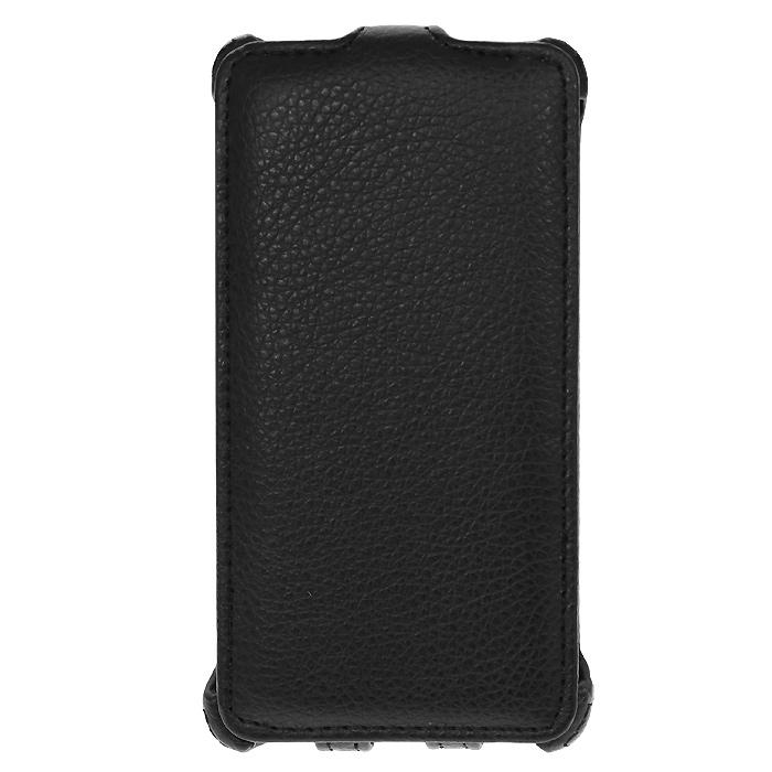 Ecostyle Shell чехол-флип для LG Optimus L9 II D605, Black