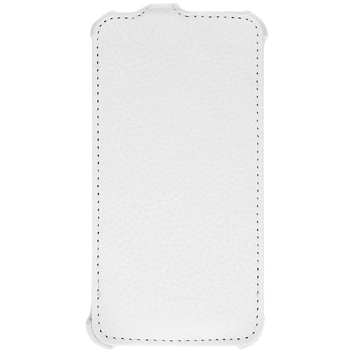 Ecostyle Shell чехол-флип для Lenovo A706, White