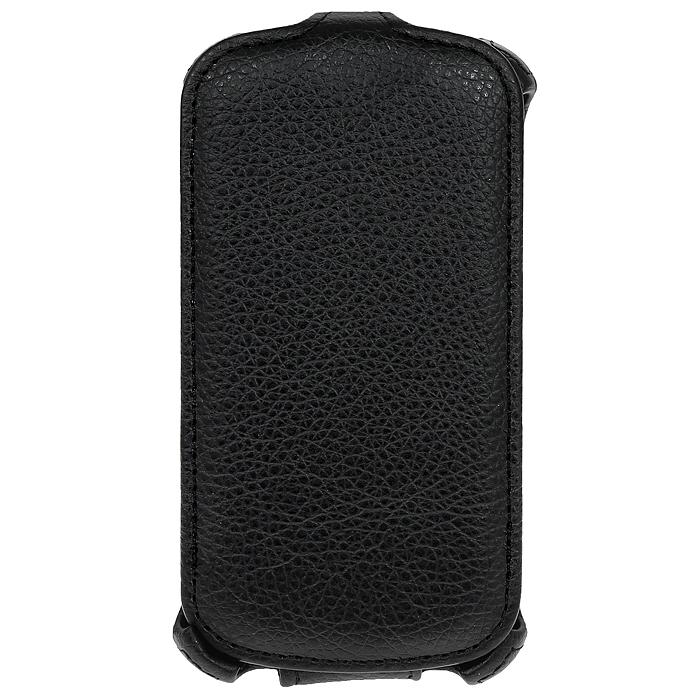 Ecostyle Shell чехол-флип для Lenovo A690, Black