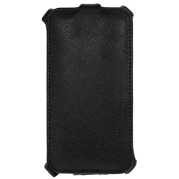 Ecostyle Shell чехол-флип для Lenovo S720, Black