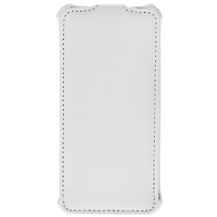 Ecostyle Shell чехол-флип для HTC One mini, WhiteESH-F-HTC1MINI-WHЧехол-флип Ecostyle Shell для HTC One mini надежно защитит ваш телефон от механических повреждений, грязи и пыли. Конструкция чехла обеспечивает свободный доступ к разъемам, камере и основным функциям смартфона. Мягкая внутренняя поверхность защищает экран устройства от царапин.