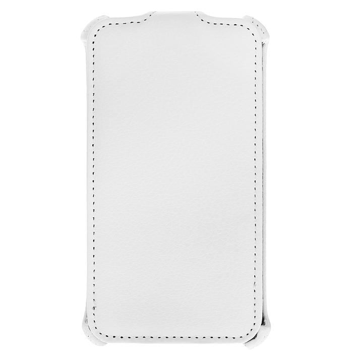 Ecostyle Shell чехол-флип для Nokia Lumia 625, White