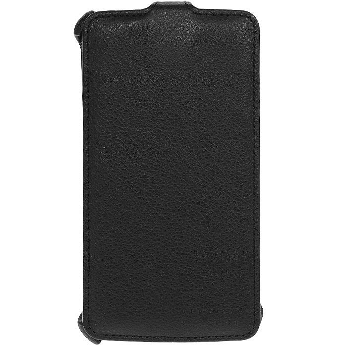 Ecostyle Shell чехол-флип для LG G Pro Lite, BlackESH-F-LGPROL-BLЧехол-флип Ecostyle Shell для LG G Pro Lite надежно защитит ваш телефон от механических повреждений, грязи и пыли. Конструкция чехла обеспечивает свободный доступ к разъемам, камере и основным функциям смартфона. Мягкая внутренняя поверхность защищает экран устройства от царапин.