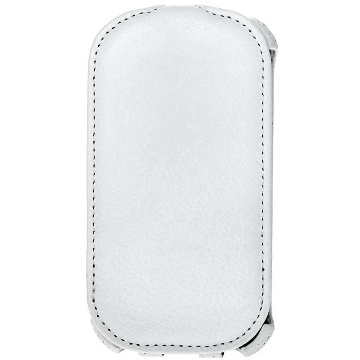 Ecostyle Shell чехол-флип для Samsung Galaxy Trend S7390, White