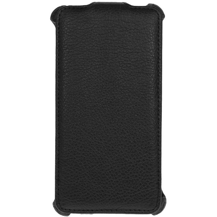 Ecostyle Shell чехол-флип для Huawei Ascend G700, BlackESH-F-HUAG700-BLЧехол-флип Ecostyle Shell для Huawei Ascend G700 надежно защитит ваш телефон от механических повреждений, грязи и пыли. Конструкция чехла обеспечивает свободный доступ к разъемам, камере и основным функциям смартфона. Мягкая внутренняя поверхность защищает экран устройства от царапин.