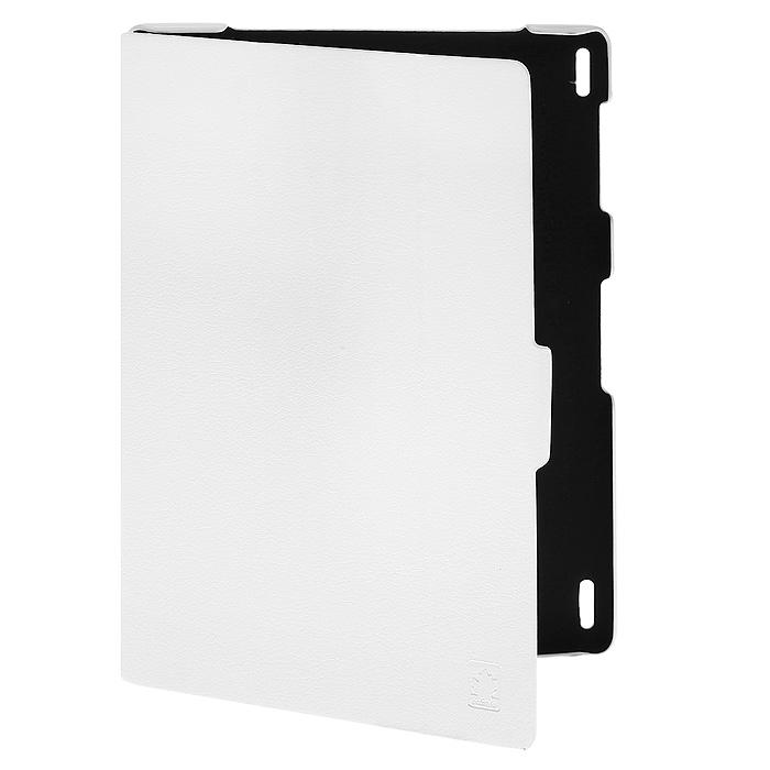 Ecostyle Shell чехол для Lenovo IdeaTab S6000, White аксессуар чехол lenovo ideatab s6000 g case executive white