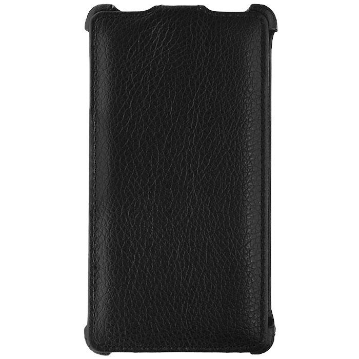 Ecostyle Shell чехол-флип для LG Optimus L9 P760, BlackESH-F-LGP760-BLЧехол-флип Ecostyle Shell для LG Optimus L9 P760 надежно защитит ваш телефон от механических повреждений, грязи и пыли. Конструкция чехла обеспечивает свободный доступ к разъемам, камере и основным функциям смартфона. Мягкая внутренняя поверхность защищает экран устройства от царапин.