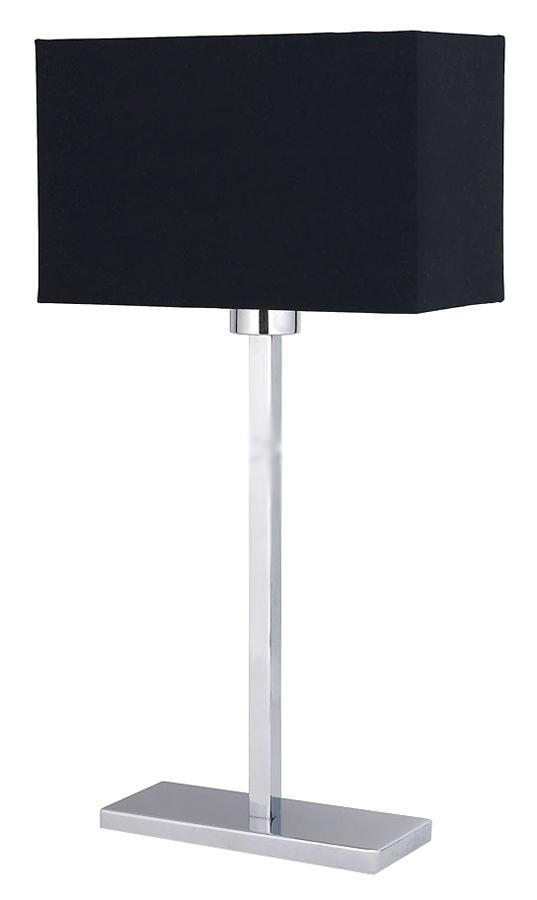Настольный светильник LAMPGUSTAF MONACO 099306099306099306 Настольная лампа, MONACO, хром, E27 1*60W
