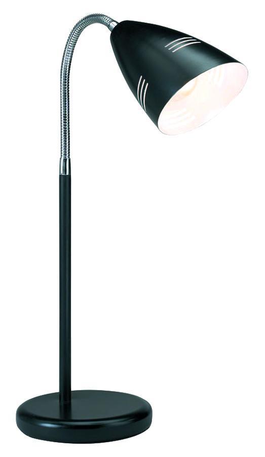 Настольный светильник MarkSLojd VEJLE 197923197923197923 Настольная лампа, VEJLE, черный+хром, E14 1*40WW